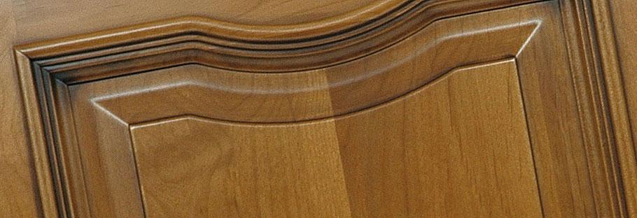 Italian manufacturer of solid wood classic kitchen cabinet front door