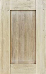 Solid wood kitchen cabinet door natural shaded with shabby effects